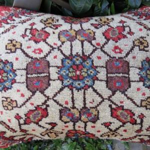 Rare rug pillow