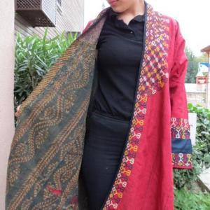 Antique Silk Kaftan